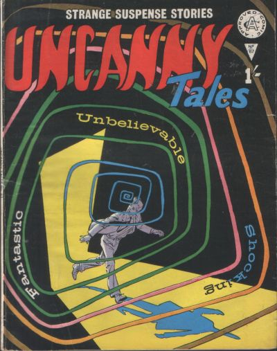 Cover for Uncanny Tales (Alan Class, 1963 series) #67