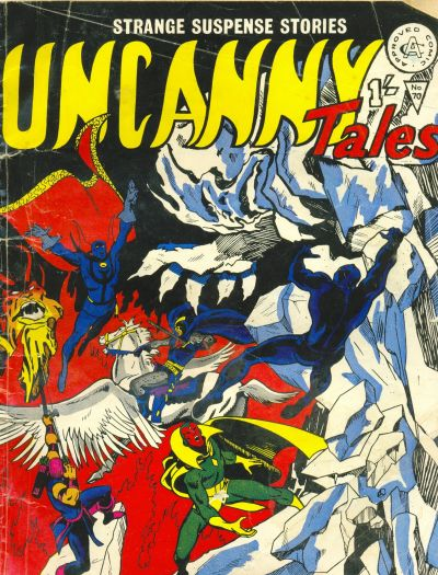 Cover for Uncanny Tales (Alan Class, 1963 series) #70