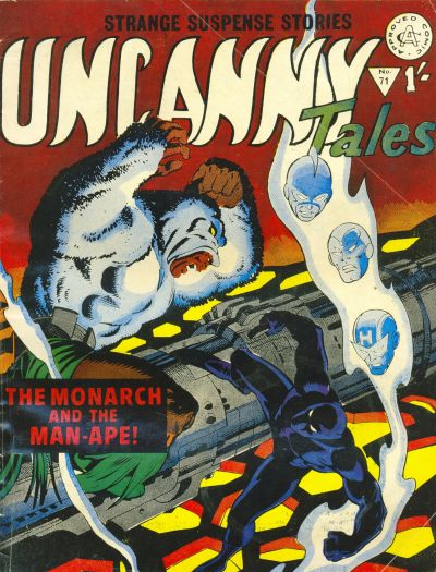 Cover for Uncanny Tales (Alan Class, 1963 series) #71