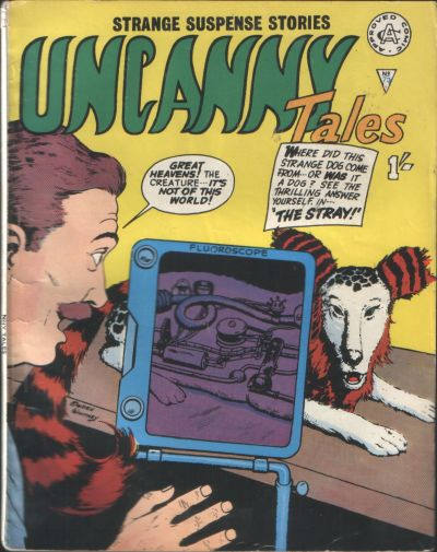 Cover for Uncanny Tales (Alan Class, 1963 series) #73
