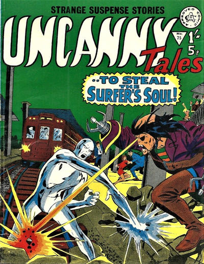 Cover for Uncanny Tales (Alan Class, 1963 series) #75