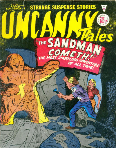 Cover for Uncanny Tales (Alan Class, 1963 series) #82