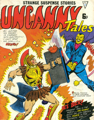 Cover for Uncanny Tales (Alan Class, 1963 series) #87