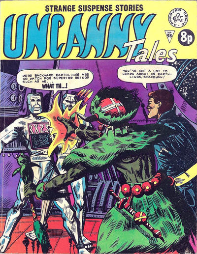Cover for Uncanny Tales (Alan Class, 1963 series) #98