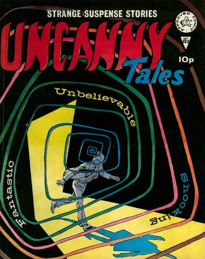 Cover for Uncanny Tales (Alan Class, 1963 series) #103