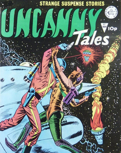 Cover for Uncanny Tales (Alan Class, 1963 series) #104