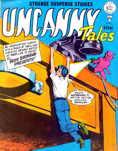 Cover for Uncanny Tales (Alan Class, 1963 series) #108