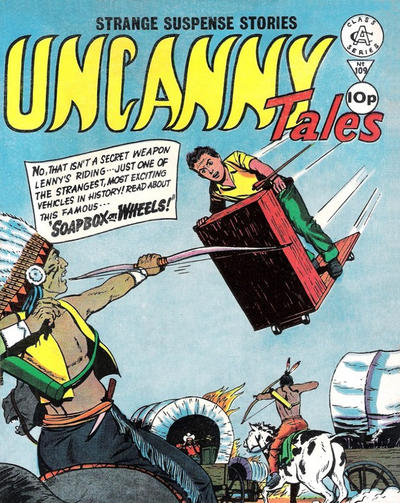 Cover for Uncanny Tales (Alan Class, 1963 series) #109
