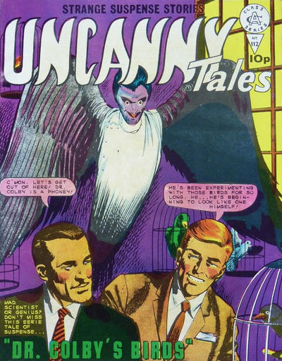 Cover for Uncanny Tales (Alan Class, 1963 series) #112