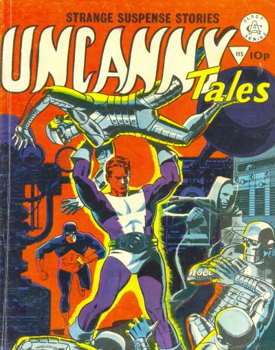 Cover for Uncanny Tales (Alan Class, 1963 series) #115