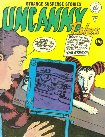 Cover for Uncanny Tales (Alan Class, 1963 series) #118