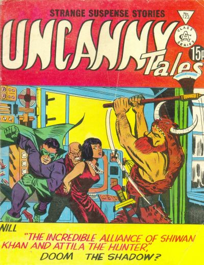 Cover for Uncanny Tales (Alan Class, 1963 series) #123
