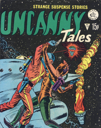 Cover for Uncanny Tales (Alan Class, 1963 series) #132