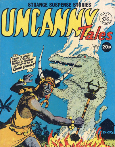 Cover for Uncanny Tales (Alan Class, 1963 series) #133