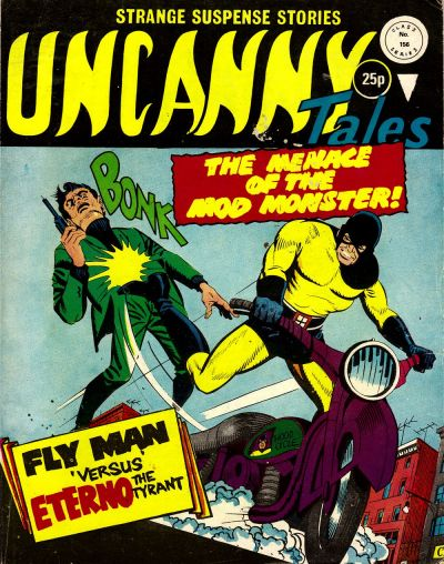 Cover for Uncanny Tales (Alan Class, 1963 series) #156