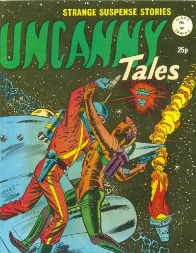Cover for Uncanny Tales (Alan Class, 1963 series) #161