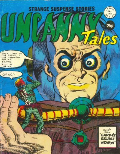 Cover for Uncanny Tales (Alan Class, 1963 series) #162