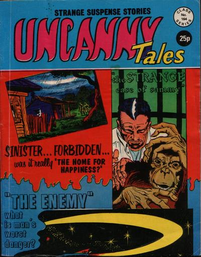 Cover for Uncanny Tales (Alan Class, 1963 series) #164