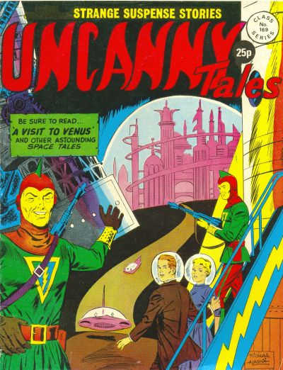 Cover for Uncanny Tales (Alan Class, 1963 series) #169