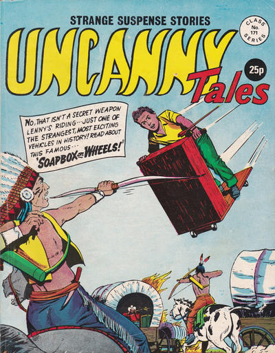 Cover for Uncanny Tales (Alan Class, 1963 series) #171