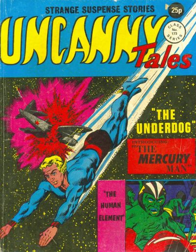 Cover for Uncanny Tales (Alan Class, 1963 series) #173