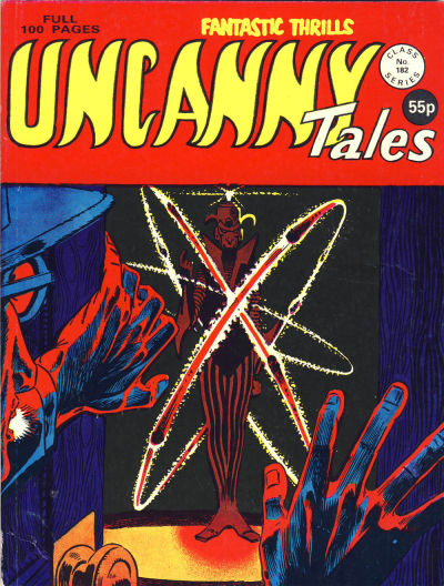 Cover for Uncanny Tales (Alan Class, 1963 series) #182