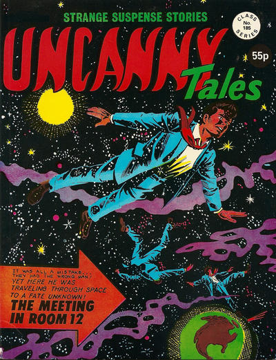 Cover for Uncanny Tales (Alan Class, 1963 series) #185