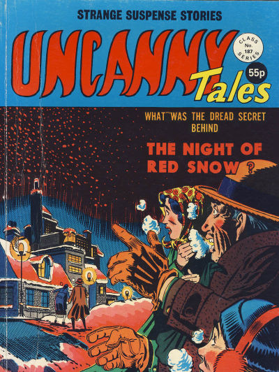 Cover for Uncanny Tales (Alan Class, 1963 series) #187
