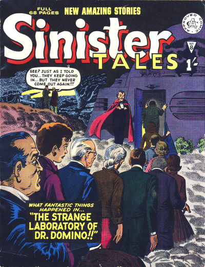 Cover for Sinister Tales (Alan Class, 1964 series) #8