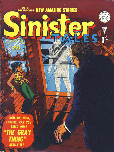 Cover for Sinister Tales (Alan Class, 1964 series) #14