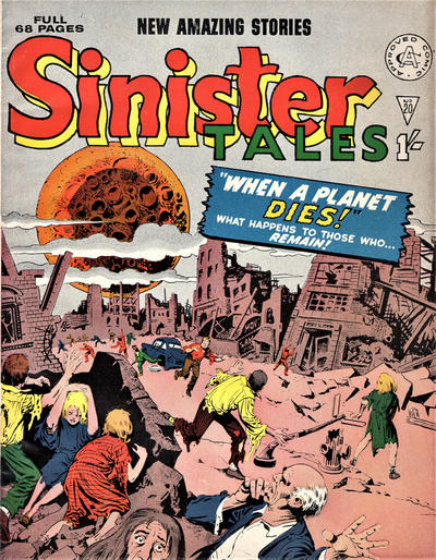Cover for Sinister Tales (Alan Class, 1964 series) #20