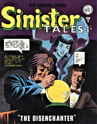 Cover for Sinister Tales (Alan Class, 1964 series) #33