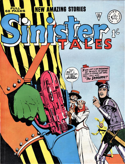 Cover for Sinister Tales (Alan Class, 1964 series) #39