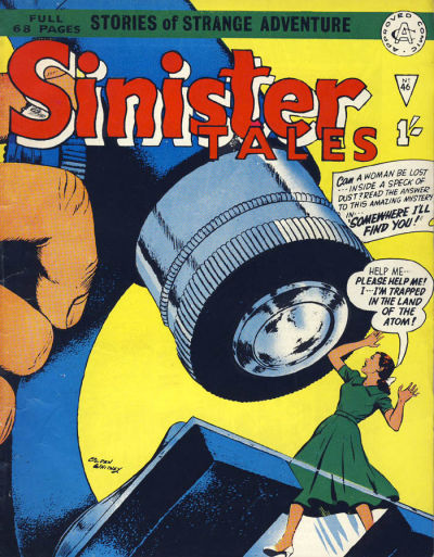 Cover for Sinister Tales (Alan Class, 1964 series) #46