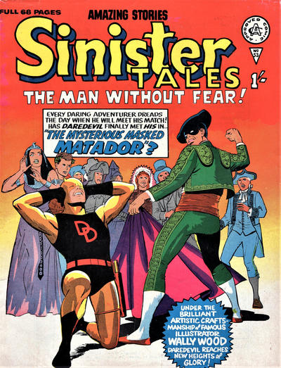 Cover for Sinister Tales (Alan Class, 1964 series) #53