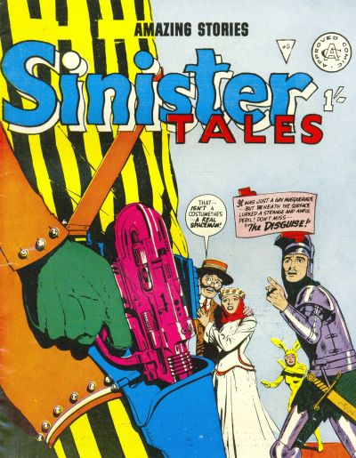 Cover for Sinister Tales (Alan Class, 1964 series) #95