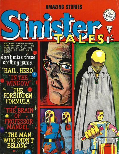 Cover for Sinister Tales (Alan Class, 1964 series) #97