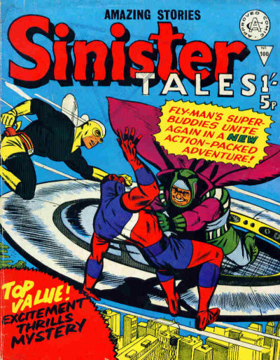 Cover for Sinister Tales (Alan Class, 1964 series) #100