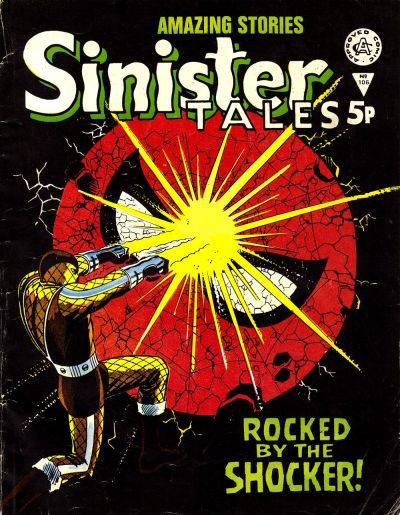 Cover for Sinister Tales (Alan Class, 1964 series) #106