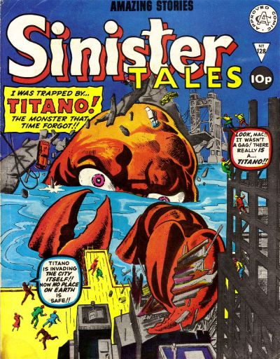Cover for Sinister Tales (Alan Class, 1964 series) #128