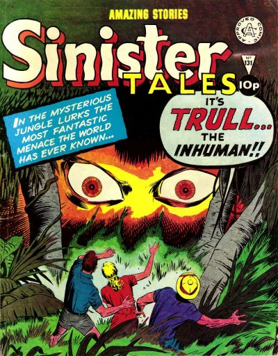 Cover for Sinister Tales (Alan Class, 1964 series) #131