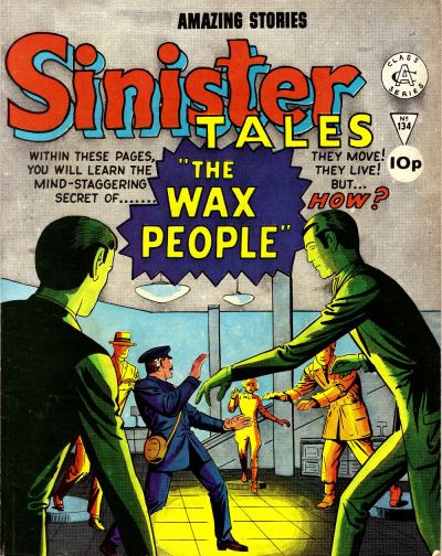 Cover for Sinister Tales (Alan Class, 1964 series) #134