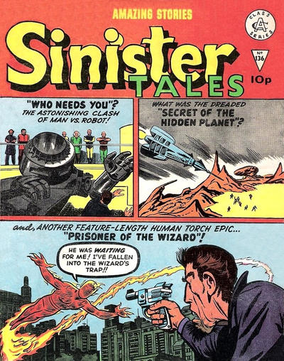 Cover for Sinister Tales (Alan Class, 1964 series) #136
