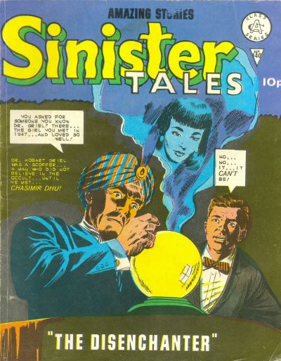 Cover for Sinister Tales (Alan Class, 1964 series) #140