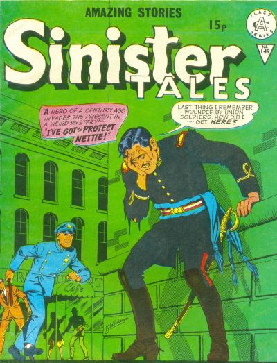 Cover for Sinister Tales (Alan Class, 1964 series) #149