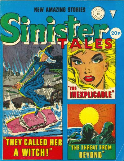 Cover for Sinister Tales (Alan Class, 1964 series) #181