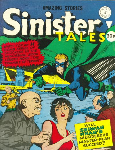 Cover for Sinister Tales (Alan Class, 1964 series) #182