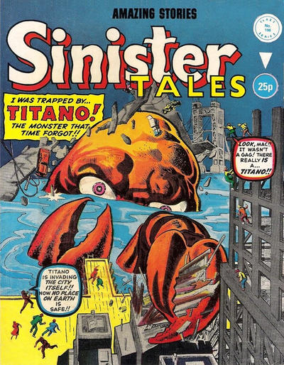 Cover for Sinister Tales (Alan Class, 1964 series) #196