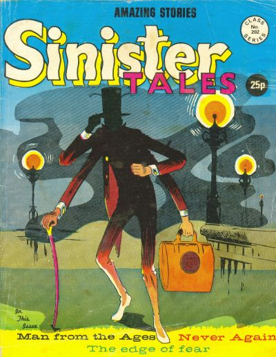 Cover for Sinister Tales (Alan Class, 1964 series) #202