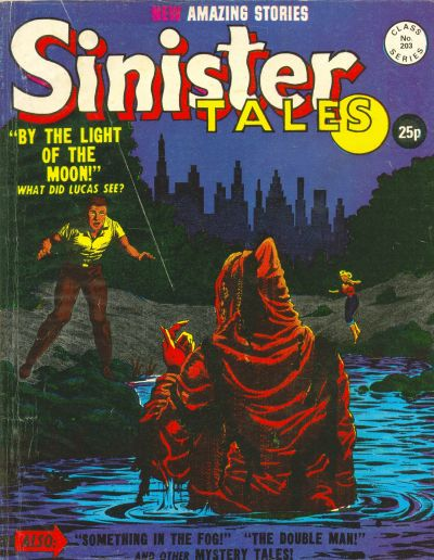 Cover for Sinister Tales (Alan Class, 1964 series) #203